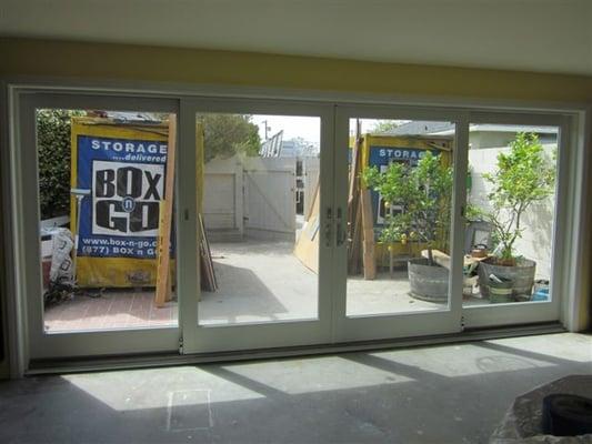 Patio Door 16 Feet Wide Redondo Beach CA United States