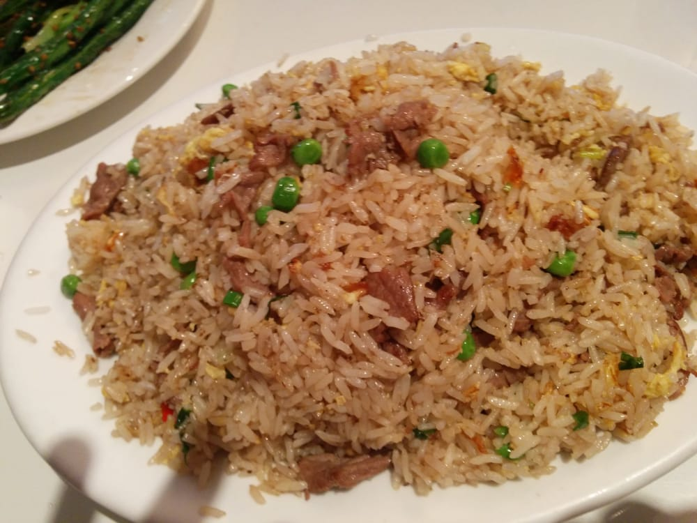 Spicy beef fried rice | Yelp