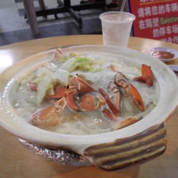 881 XO Fish Head Beehoon - Crab soup @ market price. IT WAS DELICIOUS. - Singapore, Singapur