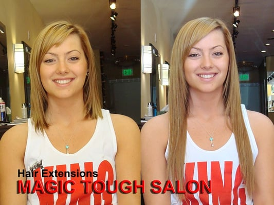 Magic touch beauty salon hair salons san mateo ca yelp for A touch of beauty salon
