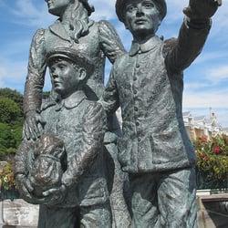 Annie Moore Statue, Cobh, Co. Cork, Ireland