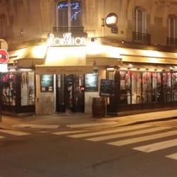 Café Roussillon - Paris, France. Outside view