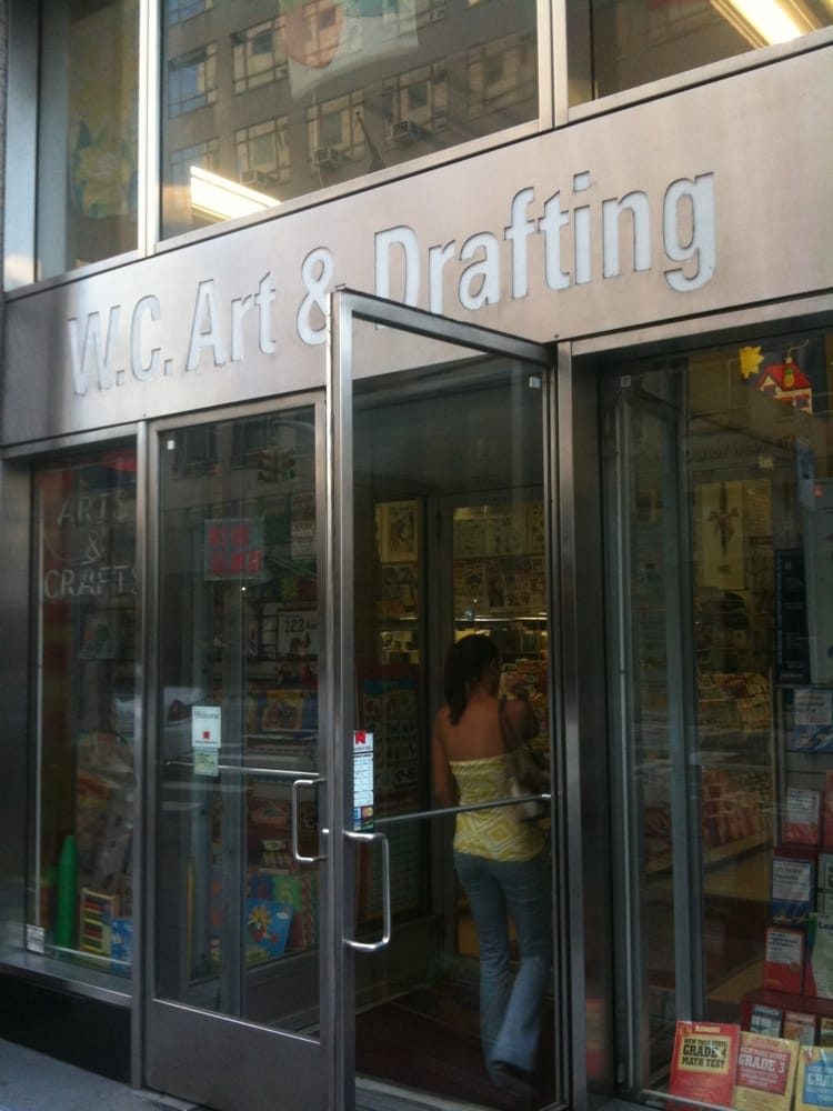 Wc art drafting art supplies downtown brooklyn for Craft stores in brooklyn