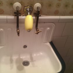 Old school soap and sink in the…