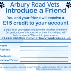 Arbury road Vets, Cambridge