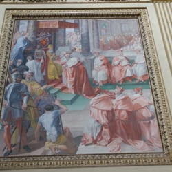 Art in one of the chapels