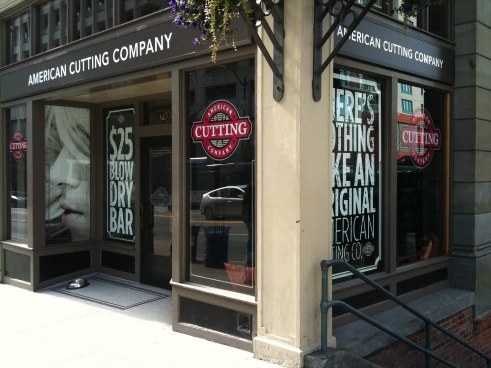 American cutting company ferm coiffeur salon de for 7 salon downtown seattle