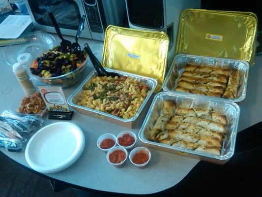 California Pizza Kitchen Thanksgiving Menu