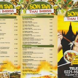 SomTam Thai-imbiss, Köln, Nordrhein-Westfalen
