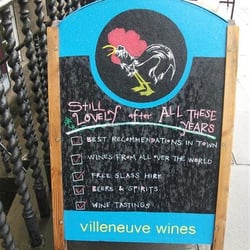 Villeneuve Wines, Edinburgh