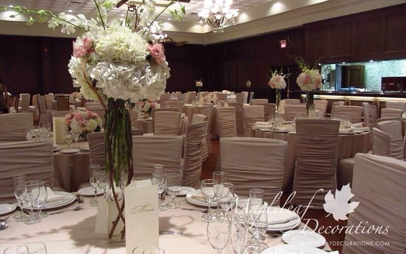 Toronto Wedding Decorations Champagne Blush Pink Modern