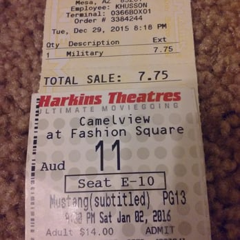 harkins camelview at fashion square 79 photos movie