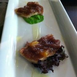 Foie gras carpaccio