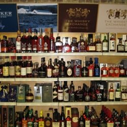 Nice bourbon selection at the Whisky…