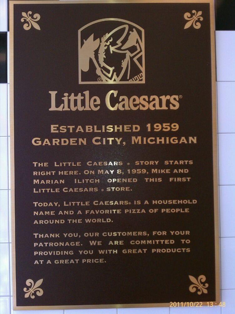 Little Caesars Pizza Pizza Garden City Mi Usa Recensioner Foton Yelp