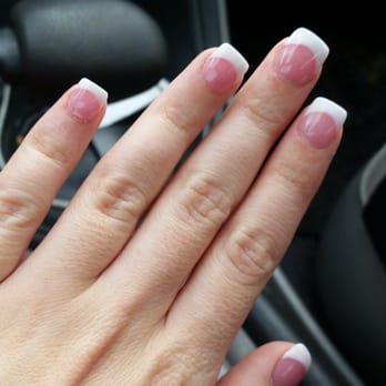 Pink & White Nails & Serenity Spa - Tampa, FL, United States. My nails