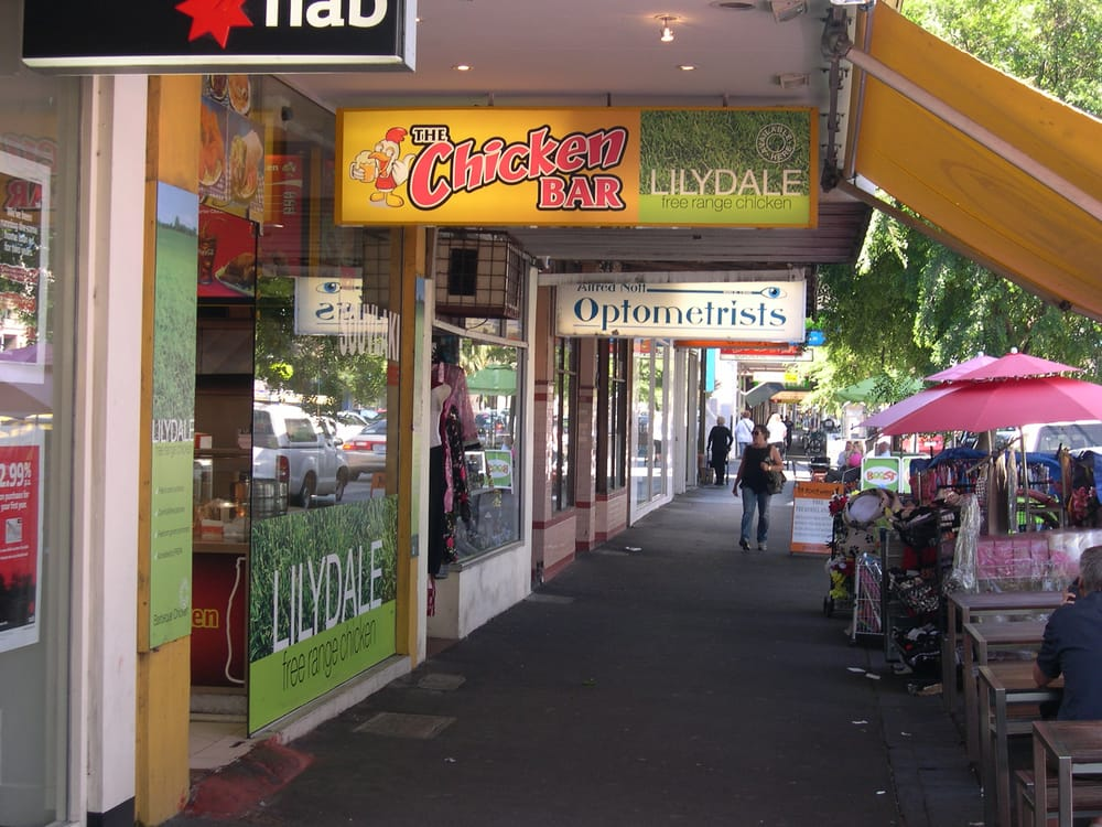 The chicken bar takeaway fast food port melbourne for Live food bar yelp