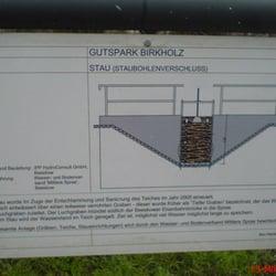 Interessantes am Gutspark Birkholz