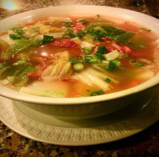 Wor Wonton Soup W Egg Noodle Yelp