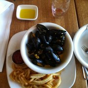 Bistro on the Brandywine - Mussel frites - Chadds Ford, PA, Vereinigte Staaten