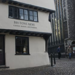 Britons Arms Coffee House & Restaurant,…