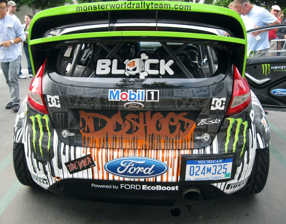 ken block was there with his 650 hp awd 2010 monster world rally ford fiesta yelp. Black Bedroom Furniture Sets. Home Design Ideas