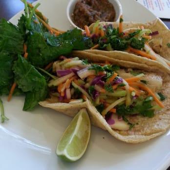 ... , cilantro, chipotle aioli, corn tortillas, salsa fresca & kale salad