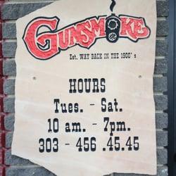 Gunsmoke Custom Gunsmithing logo