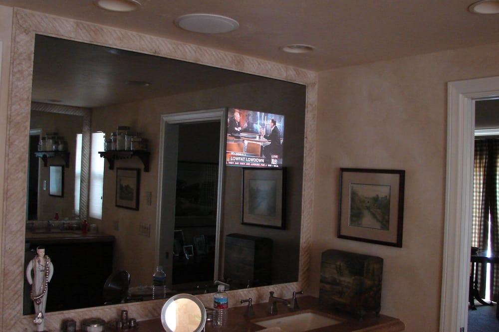 one way mirror bathroom, Bathroom decor