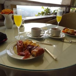 Continental breakfast in the imperial lounge.