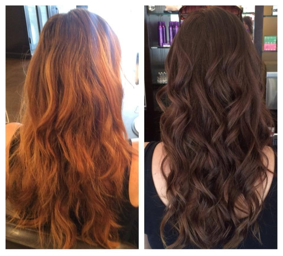 dark to light hair color before and after wwwimgkidcom