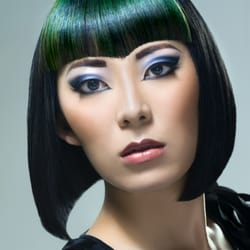 Jade Nicholas' winning look for the UK Goldwell Colorzoom competition