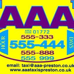Aaa Taxis, Preston, Lancashire