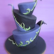 Topsy Turvy Torte oder auch Whimsical…