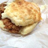 Sunrise Biscuit Kitchen Chapel Hill Nc United States Chicken Cheddar Biscuit