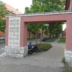 Eisenbahnersiedlung Rangierbahnhof, Nuremberg, Bayern, Germany