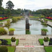 Garten vor dem Kensington Palace