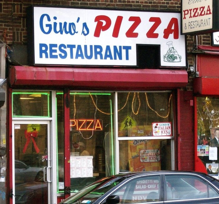 Gino S Pizzeria Pizza Prospect Lefferts Gardens Brooklyn Ny Verenigde Staten Reviews