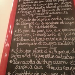 Le repas du moment. 31€ entree + plat +…