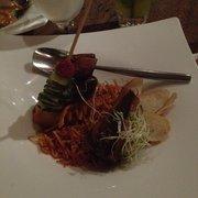 Osha Thai - San Francisco, CA, États-Unis. Kurobata Pork Belly