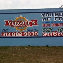 Vergote s poultry fish market fish chips detroit for Detroit fish market
