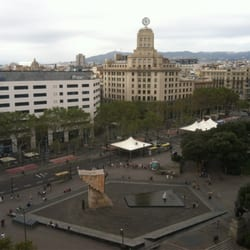 Olivia Plaza Hotel - View from 9th floor - Barcelona, Spanien