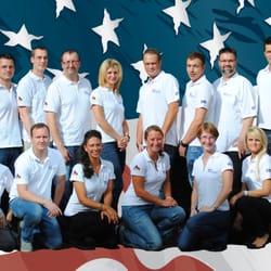 Das Team der Flamingo Company