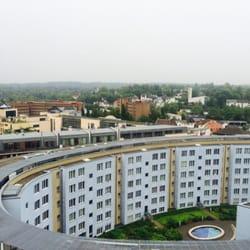 Ausblick aus dem Hotelzimmer