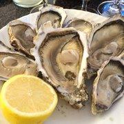 Six types of oysters at KaDeWe Berlin