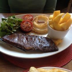 Skirt Steak and Chips