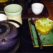 Thé au spéculos et muffin matcha…
