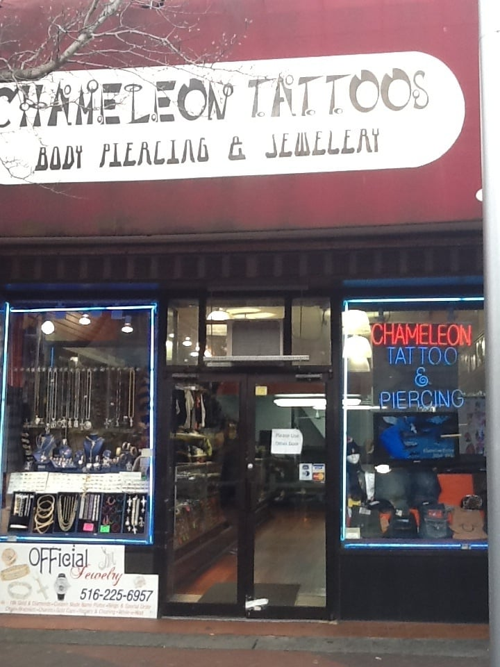 chameleon tattoo the best tattoo shop on jamaica ave