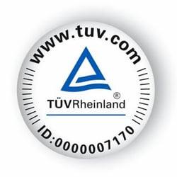 TÜV-zertifiziert seit 2008