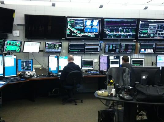 Main Control Center